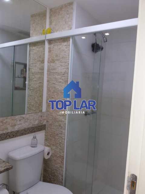 20 - Linda cobertura duplex, frente, 3 quartos - 2 planejados e 1 suíte, 3 banheiros, cozinha planejada, deck, churrasqueira, garagem e total infra. (Pátio Carioca) - HACO30003 - 21