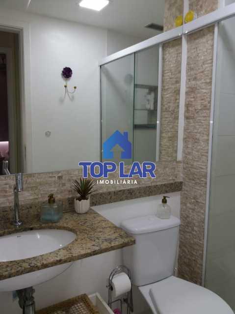 22 - Linda cobertura duplex, frente, 3 quartos - 2 planejados e 1 suíte, 3 banheiros, cozinha planejada, deck, churrasqueira, garagem e total infra. (Pátio Carioca) - HACO30003 - 23