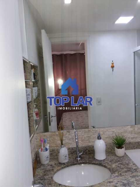 23 - Linda cobertura duplex, frente, 3 quartos - 2 planejados e 1 suíte, 3 banheiros, cozinha planejada, deck, churrasqueira, garagem e total infra. (Pátio Carioca) - HACO30003 - 24