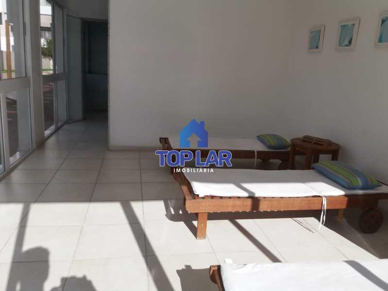 27 - Linda cobertura duplex, frente, 3 quartos - 2 planejados e 1 suíte, 3 banheiros, cozinha planejada, deck, churrasqueira, garagem e total infra. (Pátio Carioca) - HACO30003 - 28