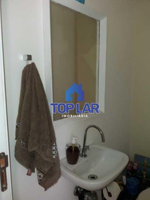 29 - Linda cobertura duplex, frente, 3 quartos - 2 planejados e 1 suíte, 3 banheiros, cozinha planejada, deck, churrasqueira, garagem e total infra. (Pátio Carioca) - HACO30003 - 30
