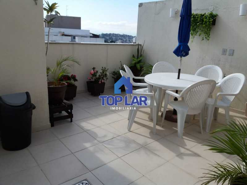 30 - Linda cobertura duplex, frente, 3 quartos - 2 planejados e 1 suíte, 3 banheiros, cozinha planejada, deck, churrasqueira, garagem e total infra. (Pátio Carioca) - HACO30003 - 31