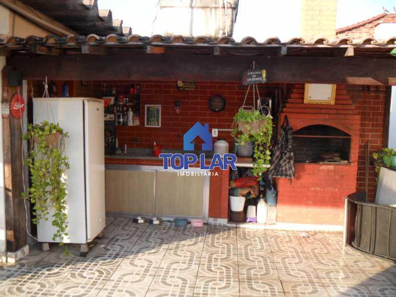 19 - Linda casa duplex com terração cob. e churrasq., 01 qto, 02 slas, copa-cozinha planej., dep.empr., 02 gar. - HACA10001 - 20