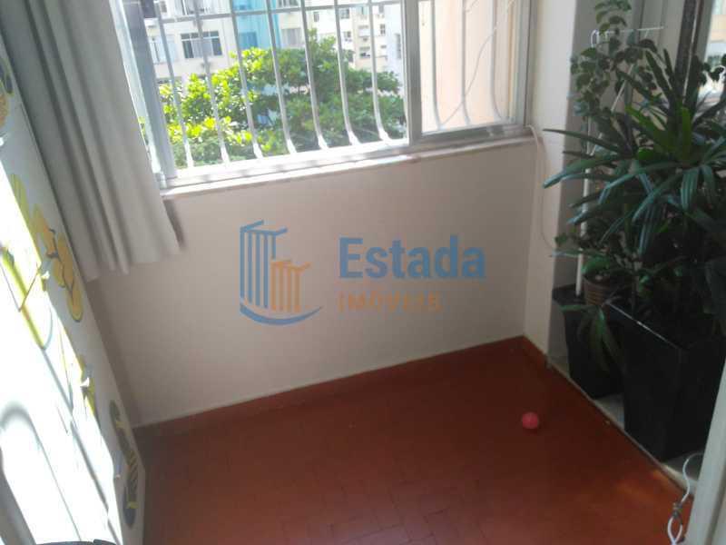 Varanda - Apartamento 2 quartos à venda Copacabana, Rio de Janeiro - R$ 595.000 - ESAP20400 - 12
