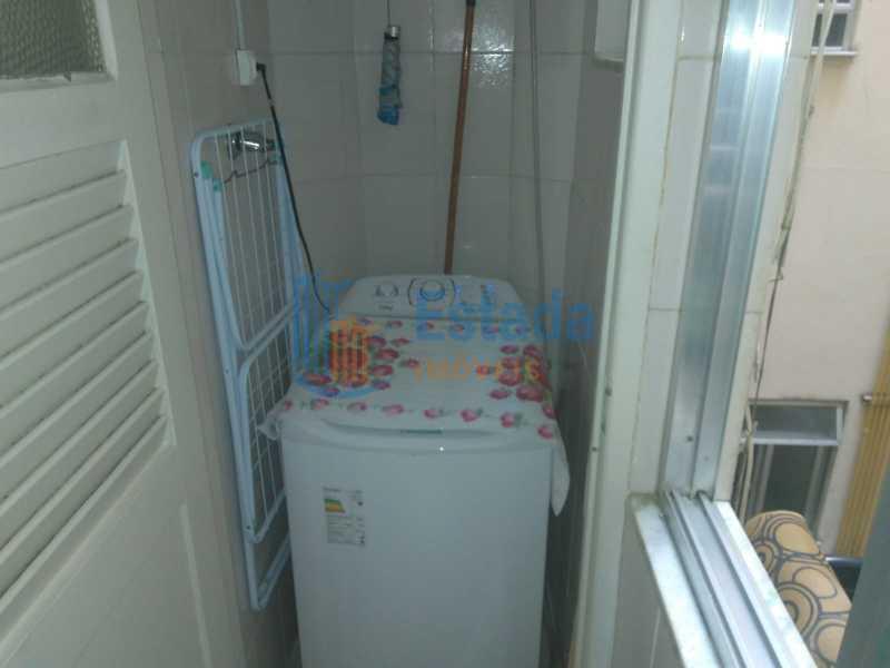 Banheiro de serviço - Apartamento 2 quartos à venda Copacabana, Rio de Janeiro - R$ 595.000 - ESAP20400 - 25