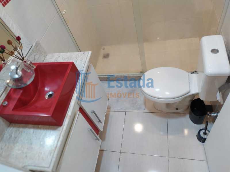 banheiro social  - Apartamento 2 quartos para venda e aluguel Copacabana, Rio de Janeiro - R$ 880.000 - ESAP20457 - 23
