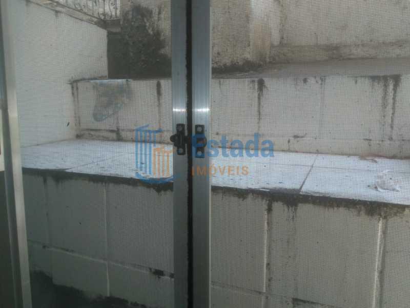 vista da janela da sala - Apartamento À Venda - Copacabana - Rio de Janeiro - RJ - ESAP10249 - 27
