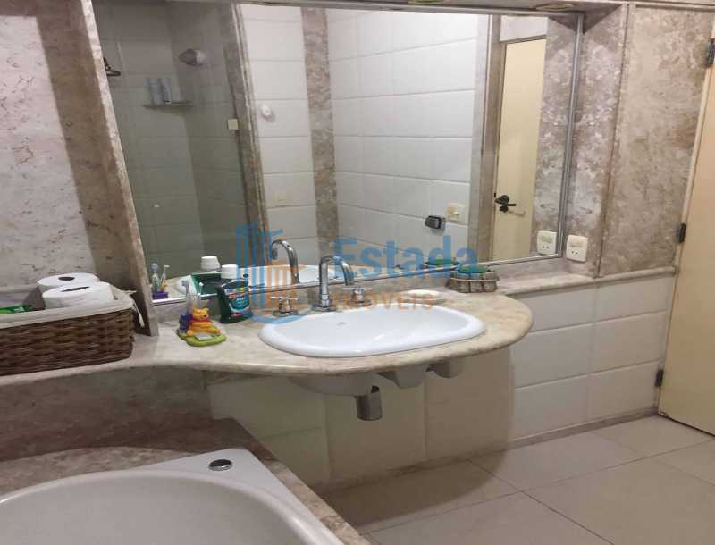 17 - 2º Banheiro - paisagem - Apartamento À Venda - Copacabana - Rio de Janeiro - RJ - ESAP30198 - 20
