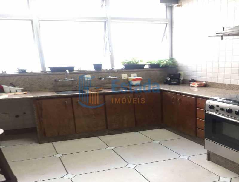 22 - Copa-cozinha - paisagem - Apartamento À Venda - Copacabana - Rio de Janeiro - RJ - ESAP30198 - 14