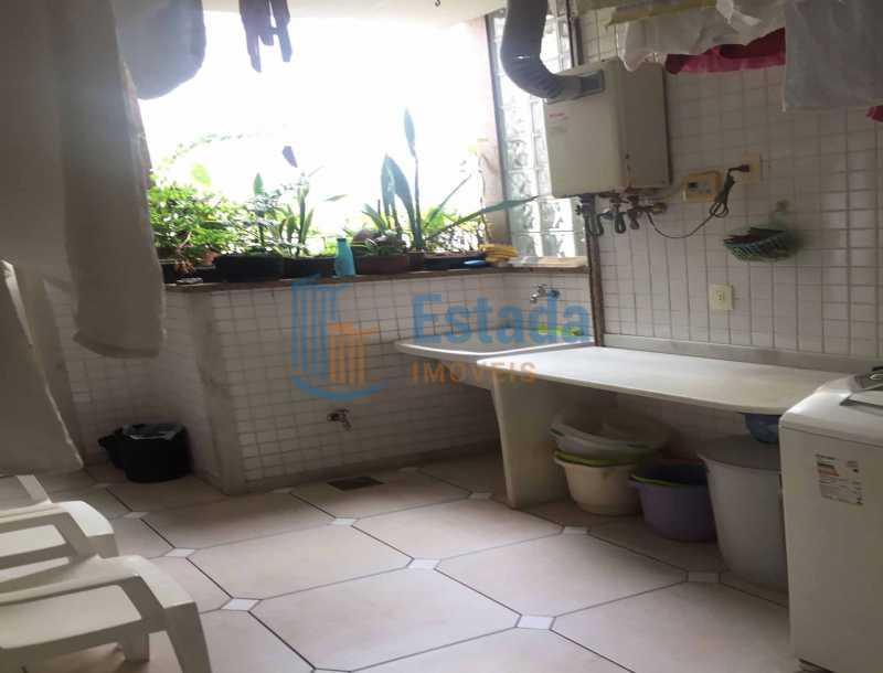 24 - Lavanderia área de servi - Apartamento À Venda - Copacabana - Rio de Janeiro - RJ - ESAP30198 - 17