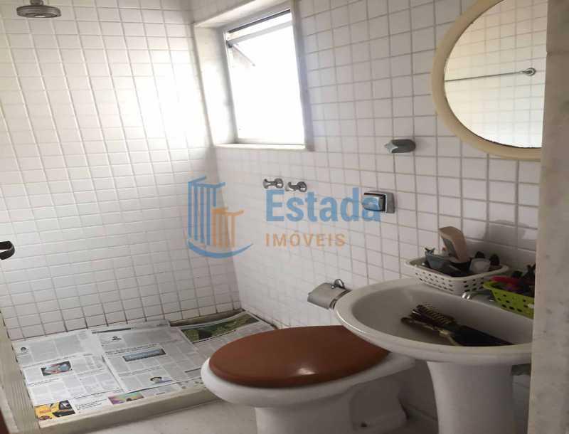 27 - Banheiro Empregados - pai - Apartamento À Venda - Copacabana - Rio de Janeiro - RJ - ESAP30198 - 21