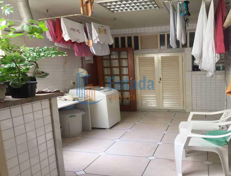 28 - Área serviço, Lavanderi - Apartamento À Venda - Copacabana - Rio de Janeiro - RJ - ESAP30198 - 15