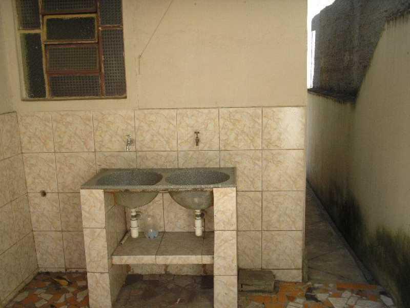 Área de serviço - Casa Para Alugar - Rocha - São Gonçalo - RJ - CECA10001 - 9