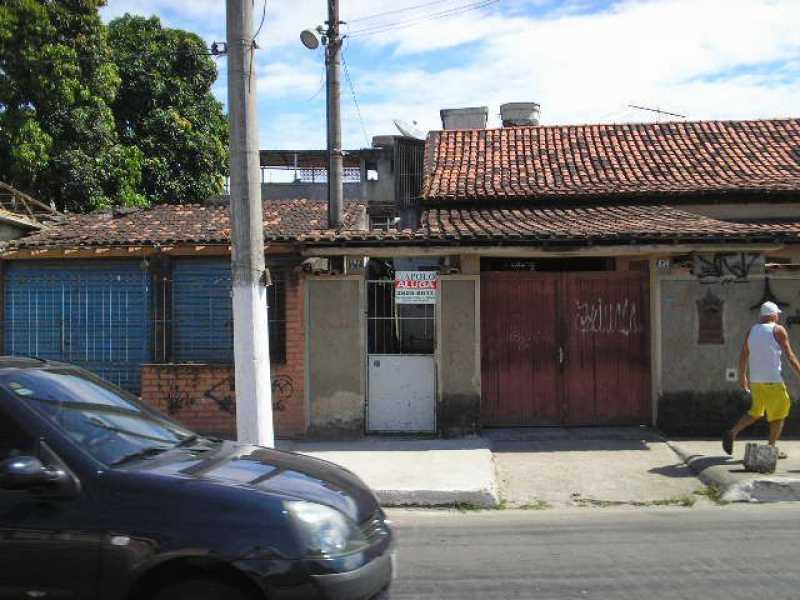 Fachada - Casa Para Alugar - Rocha - São Gonçalo - RJ - CECA10001 - 1