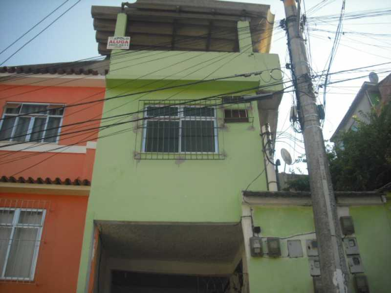 Fachada - Santa Catarina - Travessa Souza Campos, 45 - Lote 05 - casa 05 - R$ 600,00 - CECA10030 - 1