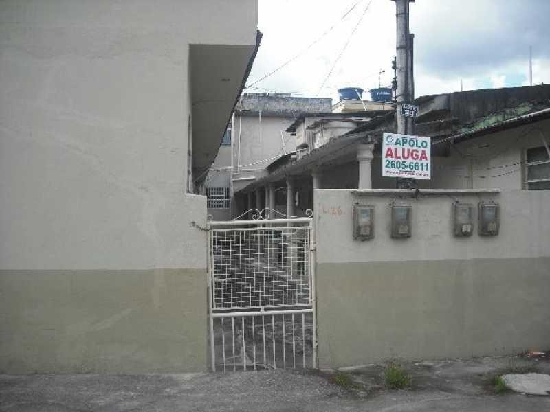 Fachada - Porto Novo - Travessa Maria Rita, N 26 - casa 03 - R$ 550,00 - CECA10013 - 3