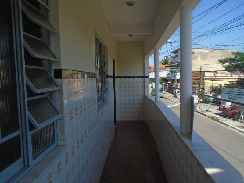 Varanda - Lindo Parque - Rio Madeira, 127 Sobrado - R 550,00 - CECA10045 - 18