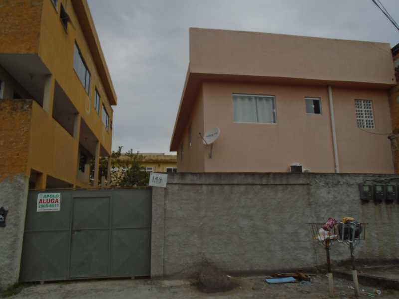 Fachada - Galo Branco - Rua Alexandrino Cunha, 149 casa 04 - R 650,00 - CECV20003 - 1