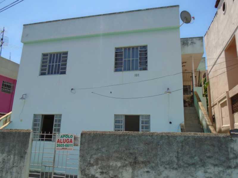 Fachada - Estrela do Norte - Rua Orlando Rangel, 367 casa 03 - R 500,00 - CECA10022 - 1