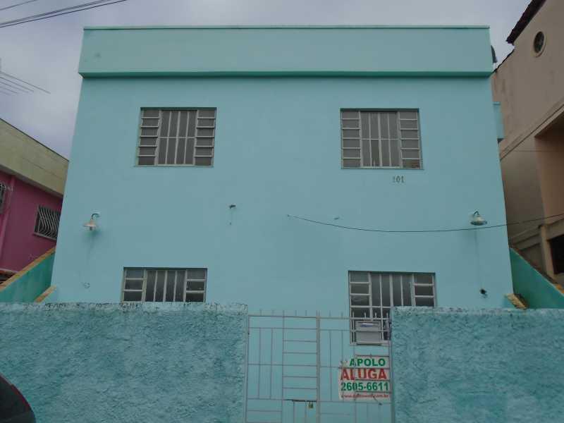 Fachada - Estrela do Norte - Rua Orlando Rangel, 367 casa 03 - R 500,00 - CECA10022 - 3