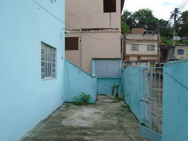 Acesso ao imóvel - Estrela do Norte - Rua Orlando Rangel, 367 casa 03 - R 500,00 - CECA10022 - 5