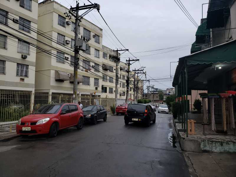 RUA DE ACESSO - FOTO 01 - PARADA 40 - RUA EDUARDO ORNELAS, 121 APT 408 BL 02 R 750,00 - CEAP20067 - 3
