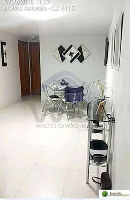 FOTO 3 - Apartamento à venda Rua Conde de Bonfim,Tijuca, Rio de Janeiro - R$ 485.000 - WCAP20388 - 4