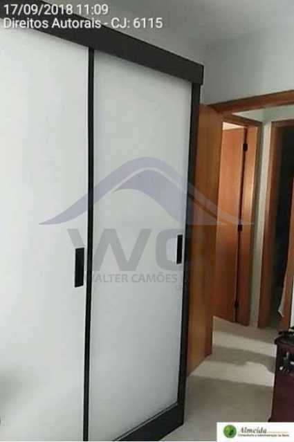 FOTO 6 - Apartamento à venda Rua Conde de Bonfim,Tijuca, Rio de Janeiro - R$ 460.000 - WCAP20388 - 7