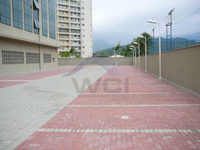 estacionamento fundos - Vendo apartamento na Barra - WCSL00024 - 14