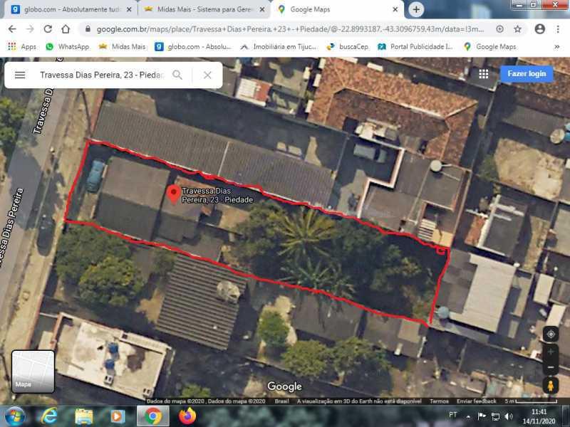 google maps - Vendo terreno na Piedade. - WCTR00001 - 3