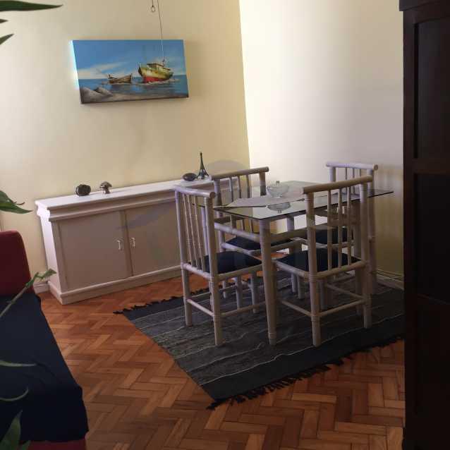7-SALA vista5 - Alugo apartamento em Copacabana. - WCAP10118 - 4