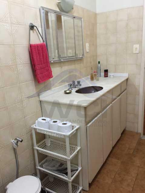 Banheiro 2 - Alugo apartamento em Copacabana. - WCAP10118 - 10