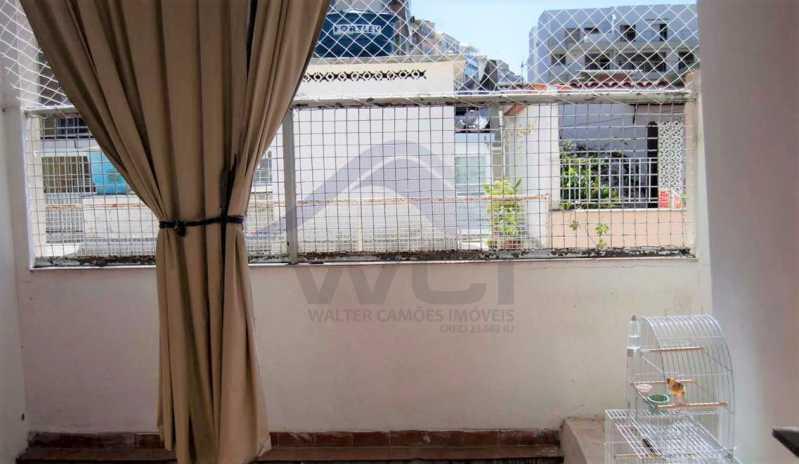 VISTA DA ÁREA EXTERNA - Vendo Casa Tijuca - WCCV30016 - 13