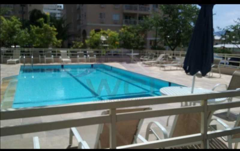 PISCINA. - Apartamento 3 quartos à venda Recreio dos Bandeirantes, Rio de Janeiro - R$ 550.000 - WCAP30427 - 6