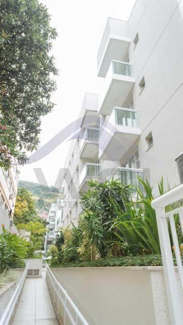Fachada lateral - Apartamento à venda Rua Torres Homem,Vila Isabel, Rio de Janeiro - R$ 348.000 - WCAP20306 - 1