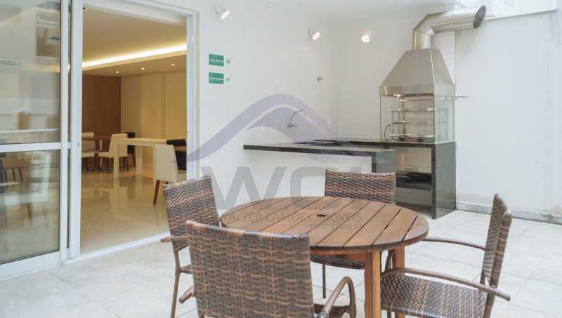 Churrasqueira 2 - Apartamento à venda Rua Torres Homem,Vila Isabel, Rio de Janeiro - R$ 504.049 - WCAP30211 - 6