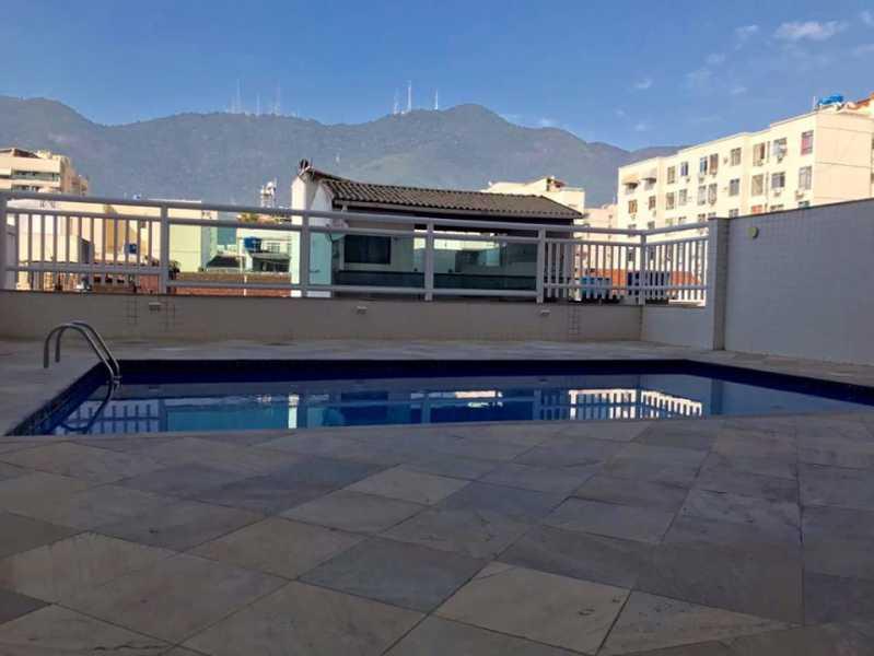 Piscina I - Apartamento à venda Rua Barão de Mesquita,Andaraí, Rio de Janeiro - R$ 780.000 - WCAP30257 - 16