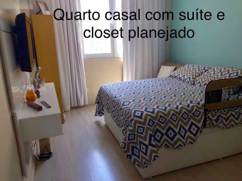 Qto Ib - Apartamento à venda Rua Barão de Mesquita,Andaraí, Rio de Janeiro - R$ 780.000 - WCAP30257 - 3