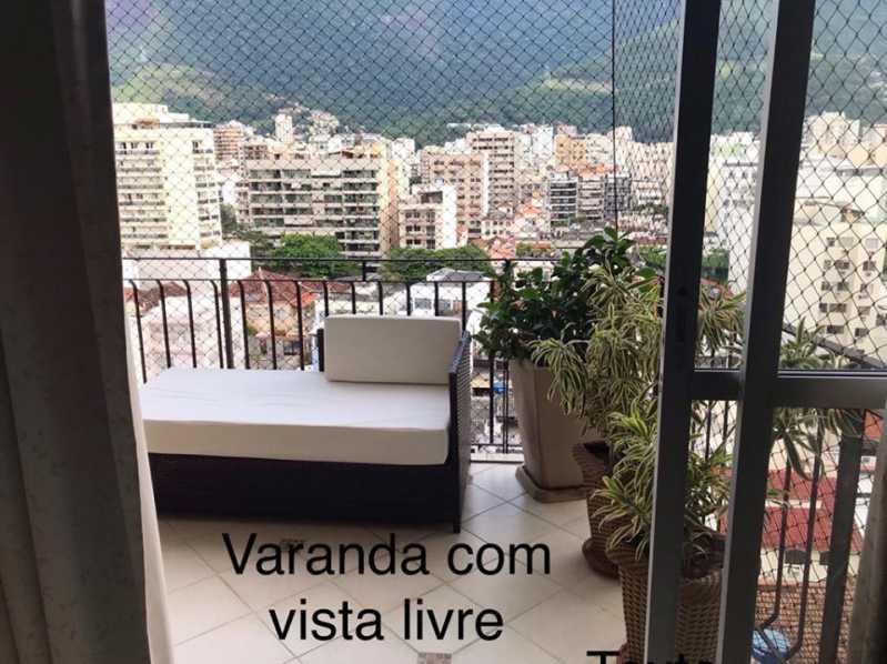 Vista - Apartamento à venda Rua Barão de Mesquita,Andaraí, Rio de Janeiro - R$ 780.000 - WCAP30257 - 5