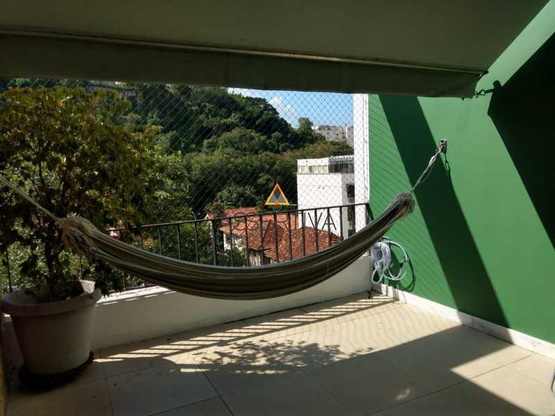 Laranjeiras - 4 quartos 1 vaga - Apartamento À Venda - Laranjeiras - Rio de Janeiro - RJ - FLAP40024 - 1