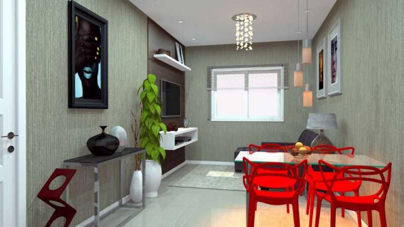 SERRA IMÓVEIS - Casa de Vila 2 quartos à venda Cidade Jardim Guapimirim, Guapimirim - R$ 170.000 - SICV20004 - 4