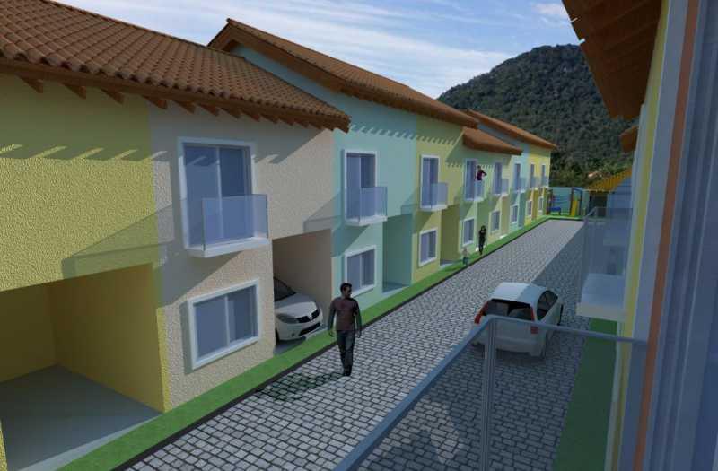 SERRA IMÓVEIS - Casa de Vila 2 quartos à venda Cidade Jardim Guapimirim, Guapimirim - R$ 170.000 - SICV20004 - 1