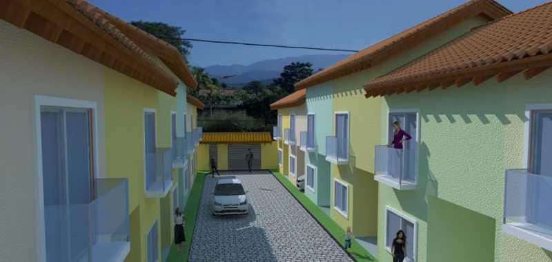 SERRA IMÓVEIS - Casa de Vila 2 quartos à venda Cidade Jardim Guapimirim, Guapimirim - R$ 170.000 - SICV20004 - 3