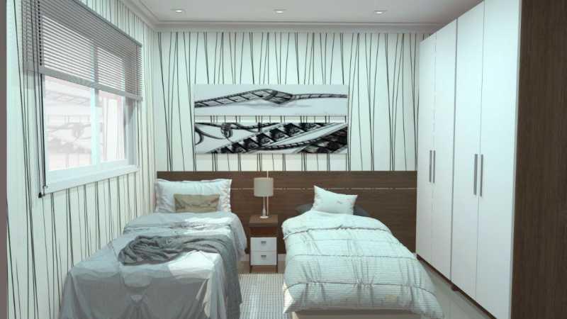 SERRA IMÓVEIS - Casa de Vila 2 quartos à venda Cidade Jardim Guapimirim, Guapimirim - R$ 170.000 - SICV20004 - 7