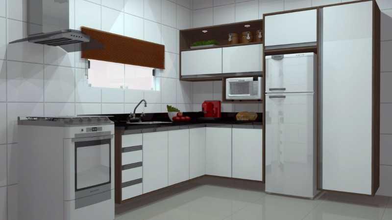 SERRA IMÓVEIS - Casa de Vila 2 quartos à venda Cidade Jardim Guapimirim, Guapimirim - R$ 170.000 - SICV20004 - 8
