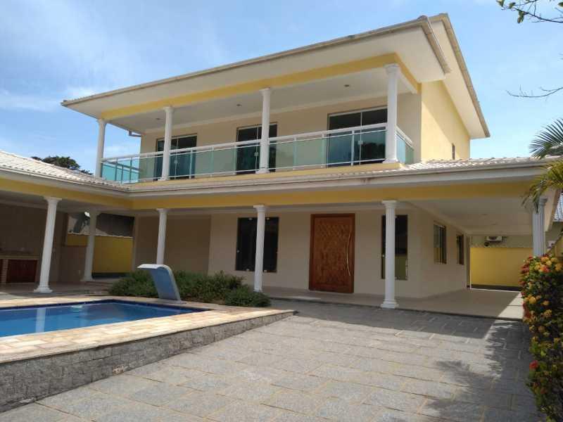 SERRA IMÓVEIS - Casa À Venda - Centro - Guapimirim - RJ - SICA40009 - 1