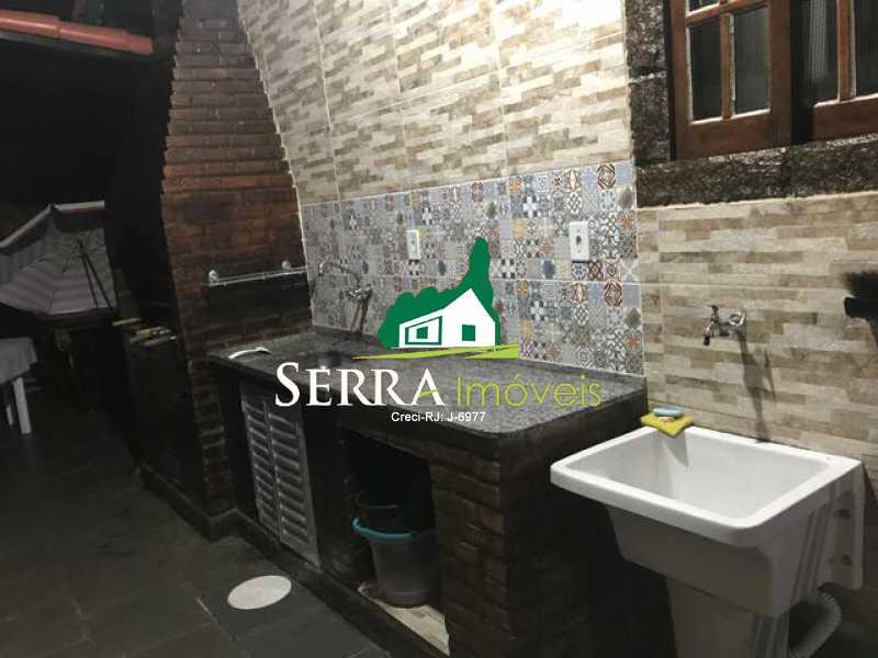 SERRA IMÓVEIS - Casa em Condomínio 3 quartos à venda Limoeiro, Guapimirim - R$ 650.000 - SICN30031 - 16