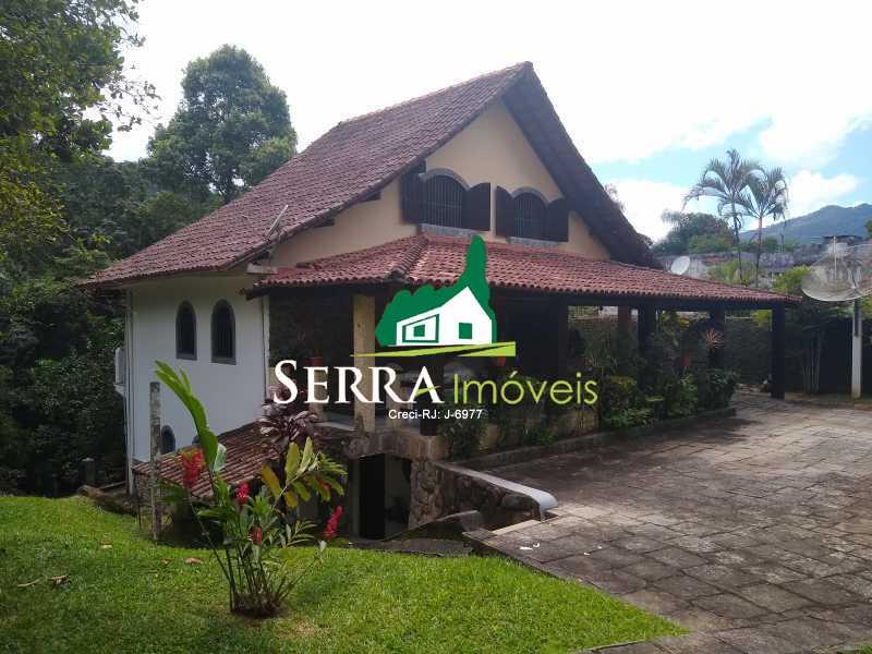 SERRA IMÓVEIS - Casa em Condomínio 4 quartos à venda Limoeiro, Guapimirim - R$ 650.000 - SICN40026 - 1