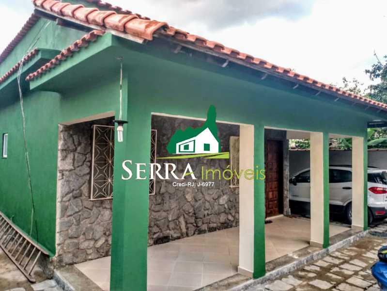 SERRA IMÓVEIS - Casa 3 quartos à venda Bananal, Guapimirim - R$ 390.000 - SICA30036 - 1