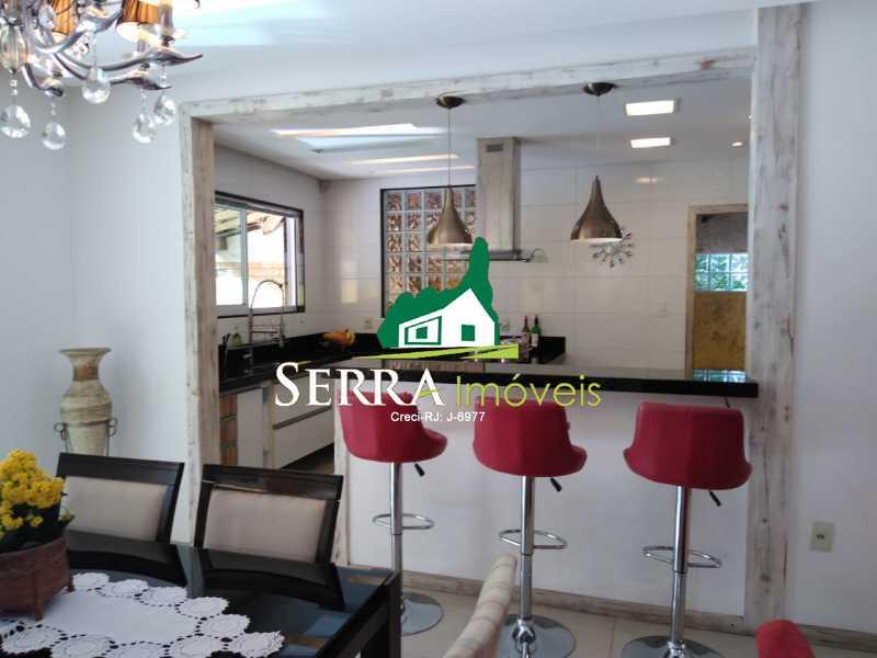 SERRA IMÓVEIS - Casa 3 quartos à venda Parque Fleixal, Guapimirim - R$ 650.000 - SICA30037 - 4